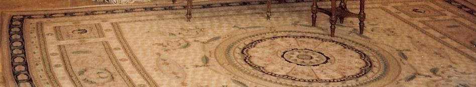 Living room carpet design