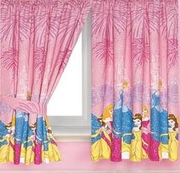 Girls room curtain