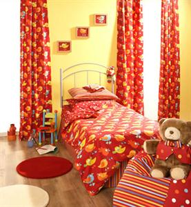 Kids room curtain design