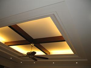 Cove ceiling