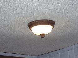Pop corn ceiling design