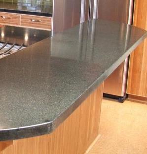 Concrete counters for kitchen