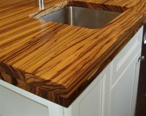 wooden counters for kitchen