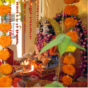 Ganesh Chaturthi home decorating ideas