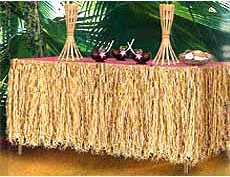 luau party decoration ideas for office
