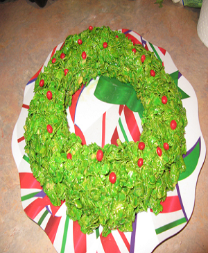 eatable christmas wreaths
