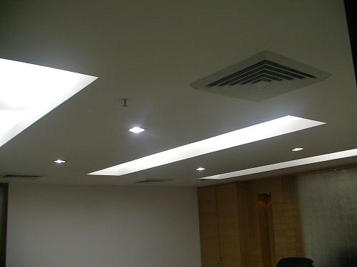 False ceiling designs for office - Lights used in false ceiling ...