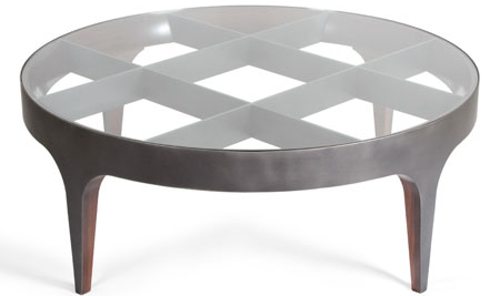 Round center table for living room
