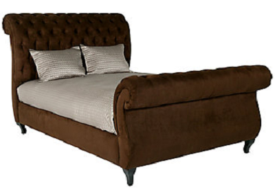 Sleigh bed styles for bedroom