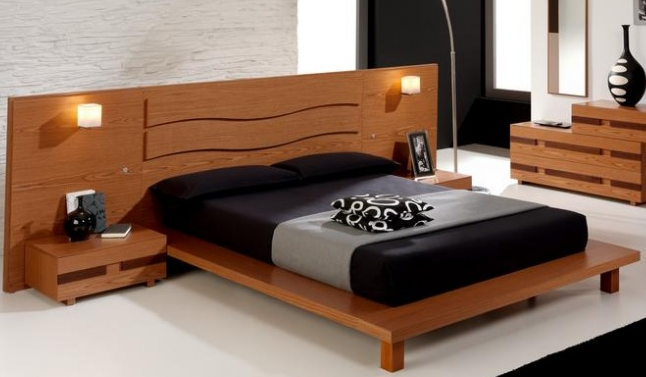 Platform bed for bedroom. Platform bed style and designs for bedroom