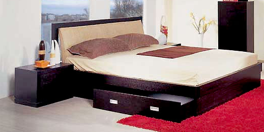 Platform bed for bedroom