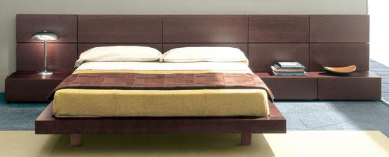 Platform bed designs for bedroom
