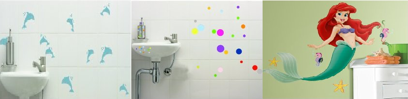 wall stickers for bathroom