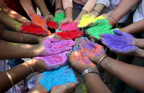 Holi party ideas