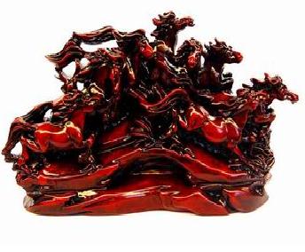 Feng Shui galloping horse