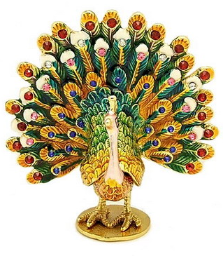 Feng Shui peacock