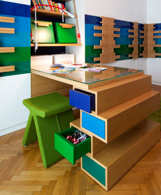 Nice Study Table Designs For Kid Part 11